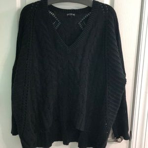 Express oversized black sweater size S